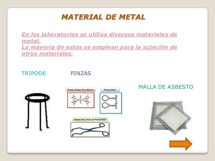 Materiales del laboratorio de biologia y quimica for Material laboratorio