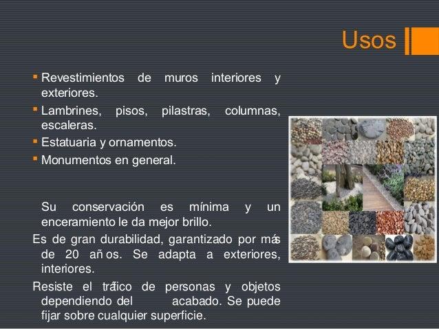 Materiales de revestimiento lee la descripcion for Marmol clasificacion