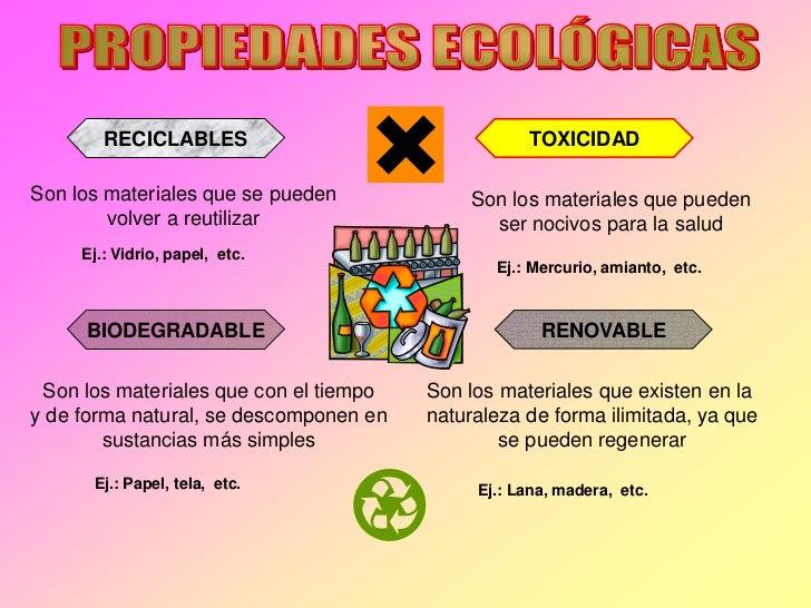 RECICLABLES                                TOXICIDADSon los materiales que se pueden             Son los materiales que pu...