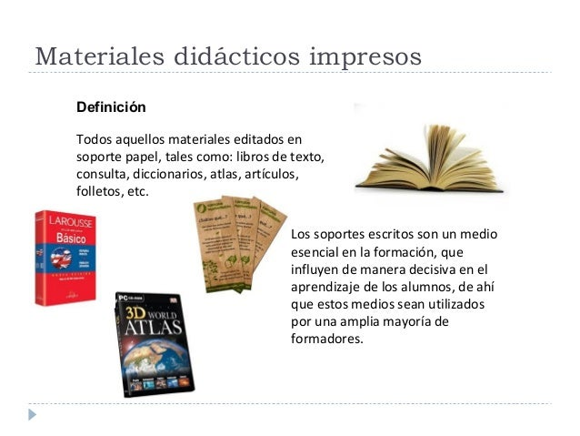 Materiales didcticos impresos