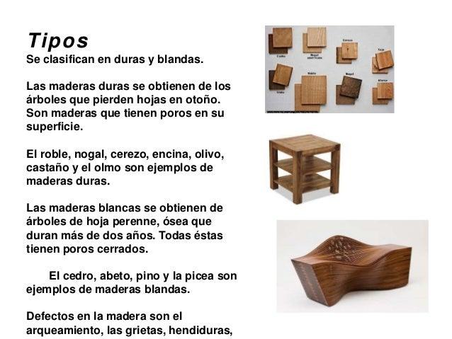 Materiales mobiliario for Ejemplos de arboles de hoja perenne