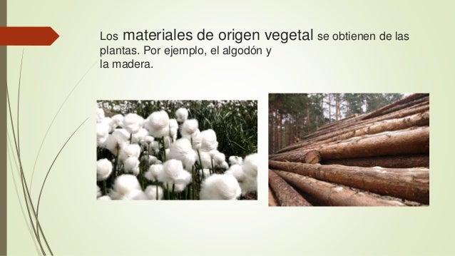 Materiales naturales  Slide 3