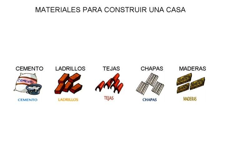 materiales para construir una casa