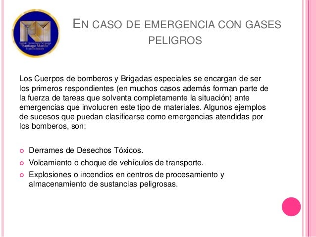 Emergencias Materiales Peligrosos 2