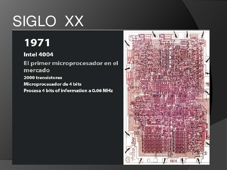 SIGLO  XX<br />La verdadera revolución tecnológica de la Electrónica surge con la invención de los dispositivos basados en...