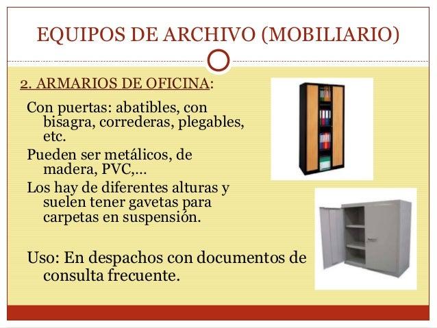 Materiales Y Equipos De Archivo