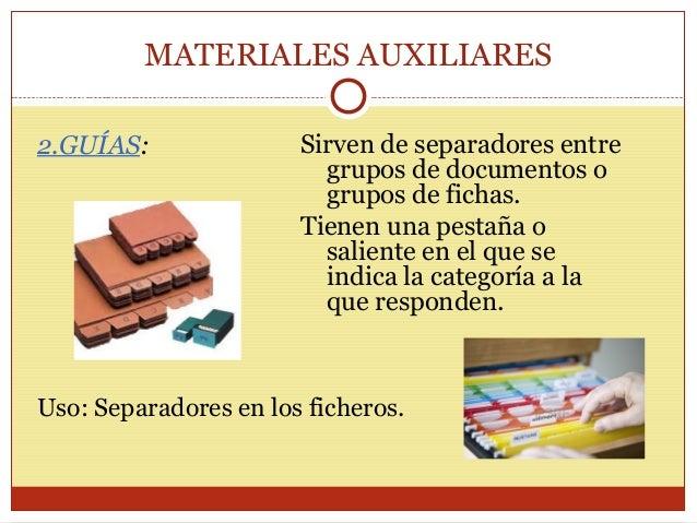 Materiales y equipos de archivo for Mobiliario de oficina definicion