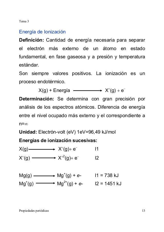 Tabla peridica qumica general radio inico 13 tema 3 propiedades peridicas 13 energa de ionizacin definicin urtaz Gallery
