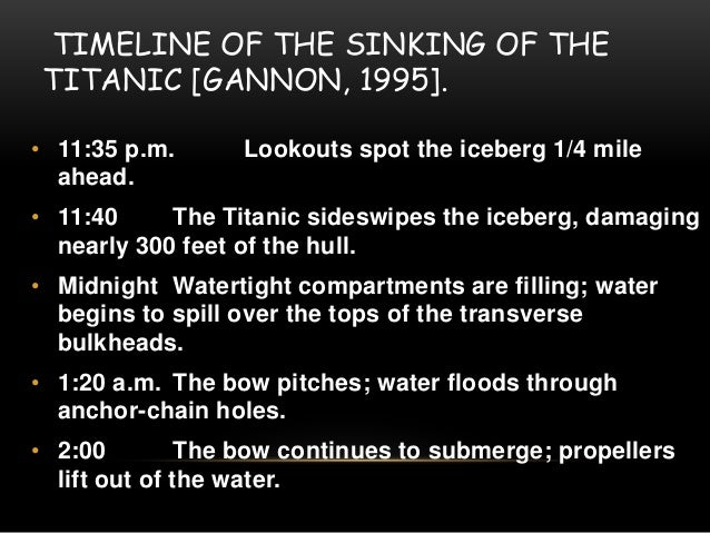 the titanic disaster essay Radio and the titanic  the titanic disaster illustrates issues about broadcasting and the limitations of monopolies early in the cycles of technological adaptation.