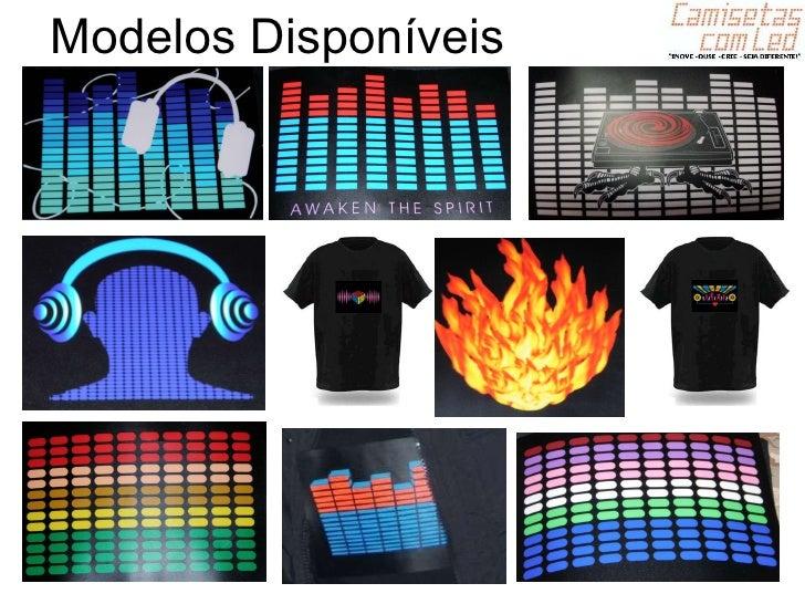Camisa Equalizador LED YouTube