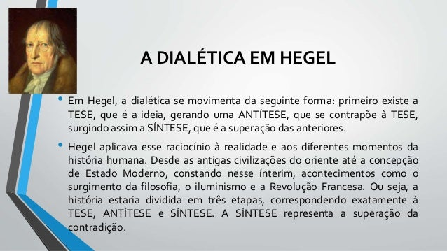 Ideias De Hegel ~ Materialismo histórico