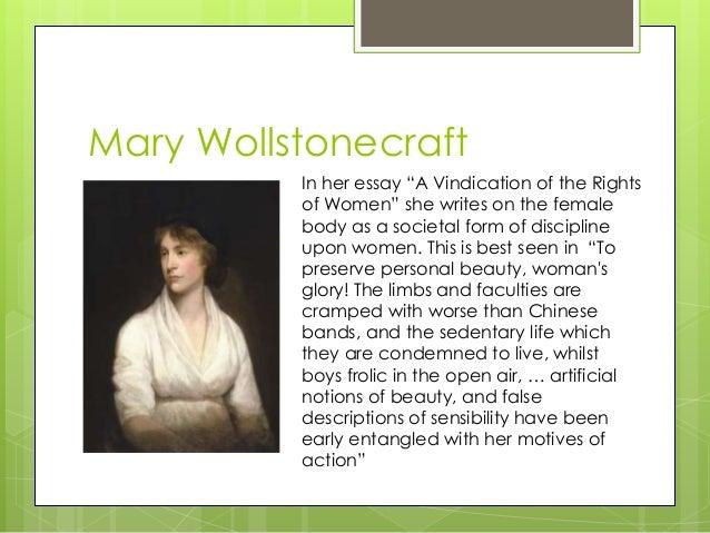 mary wollstonecraft essay