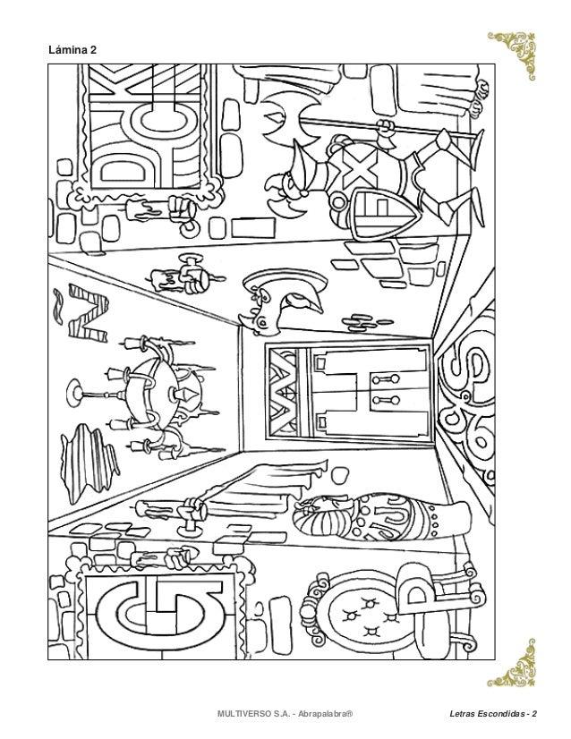 Increíble Imágenes Ocultas Para Colorear Hojas Galería - Dibujos ...