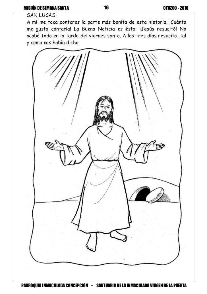 (Material para colorear Semana Santa)