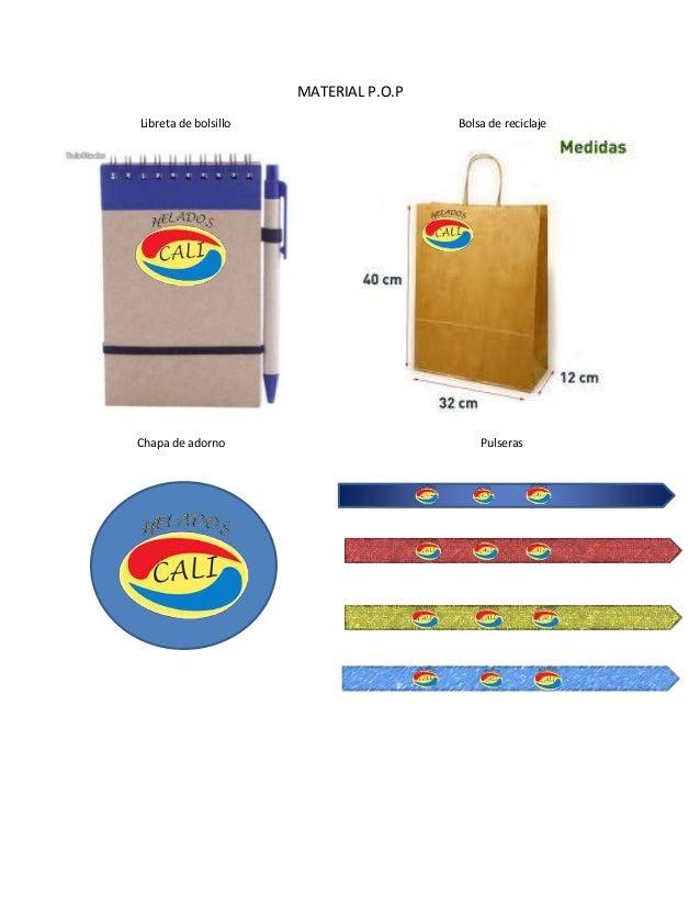 MATERIAL P.O.P Libreta de bolsillo Bolsa de reciclaje + Chapa de adorno Pulseras