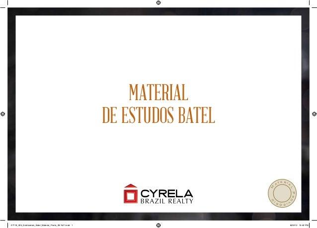 Material                                                             de estudos Batel                                     ...