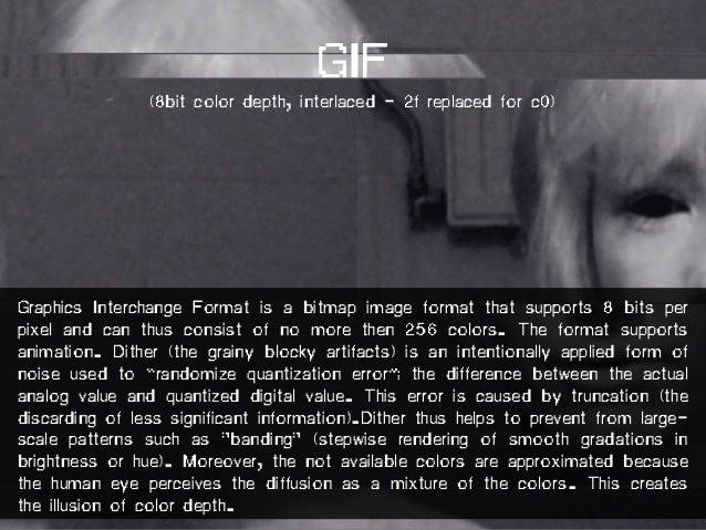 GIF (1bit color depth)
