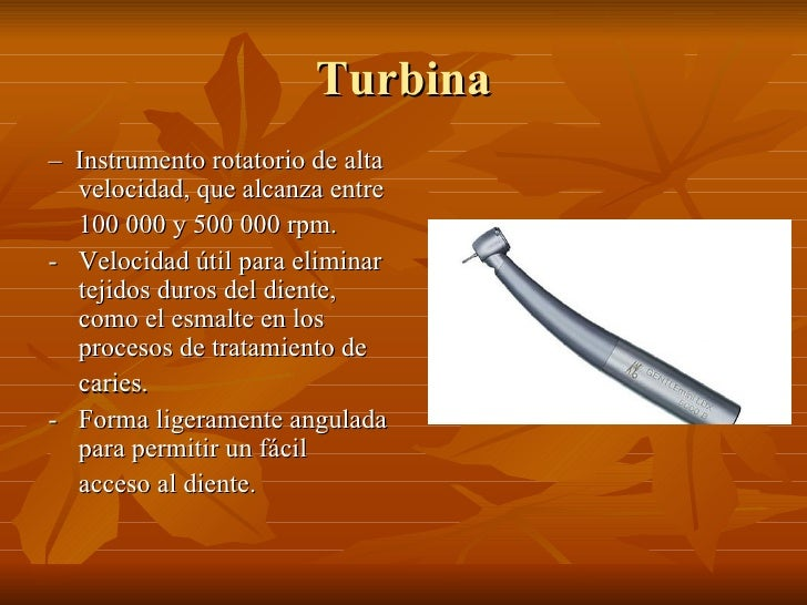 Material rotatorio odontologia Slide 3