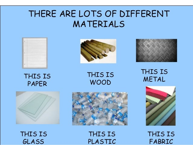 Materials 1st Grade