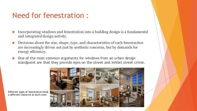 Fenestration Architecture