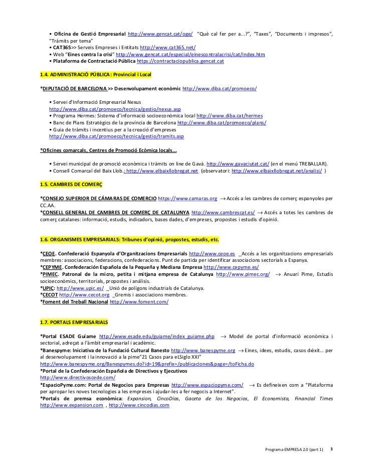 Materials empresa 2 0 g7 for Oficina gestio empresarial