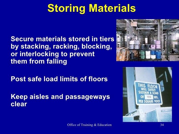 Materials handling ppt.