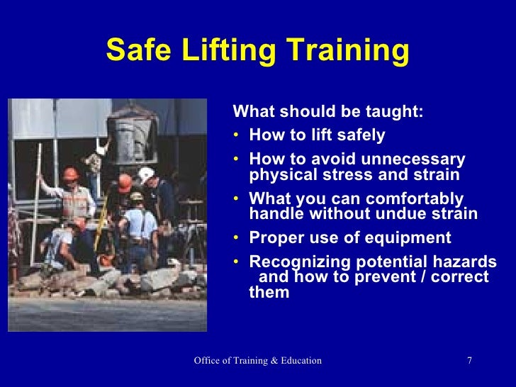 Osha 10-hour general industry outreach trainer presentations.