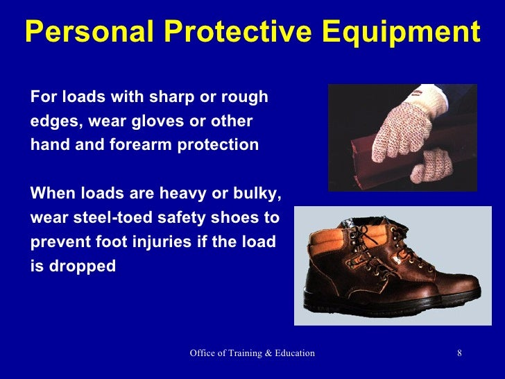 Safety in construction training: material handling.