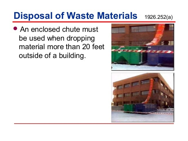 Materials handling storage use and disposal by nmed for Use of waste material