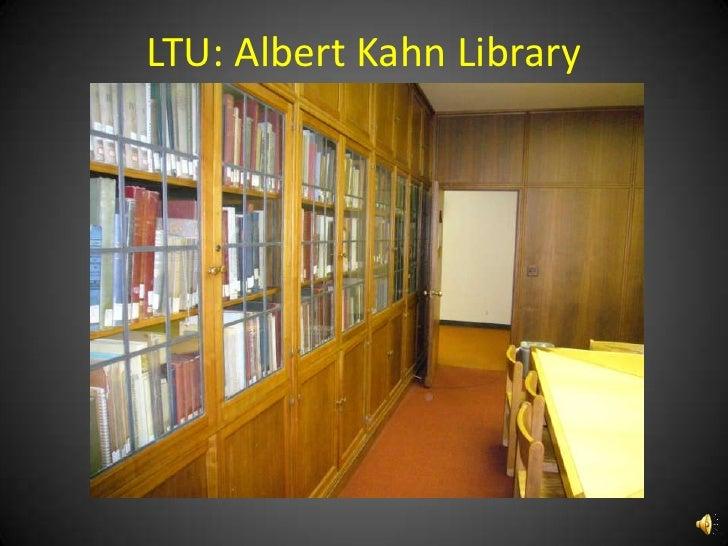 LTU Albert Kahn Librarybr