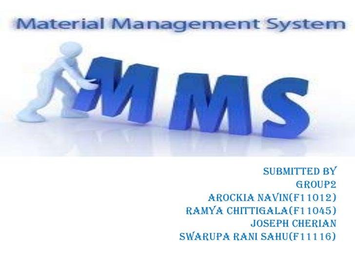 Submitted by                   Group2    Arockia Navin(F11012) Ramya Chittigala(F11045)           Joseph CherianSwarupa Ra...