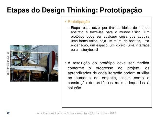 Etapas do Design Thinking: Prototipação • Prototipação  photo by Tze Meng Tan  ‒ Etapa responsável por tirar as ideias do ...