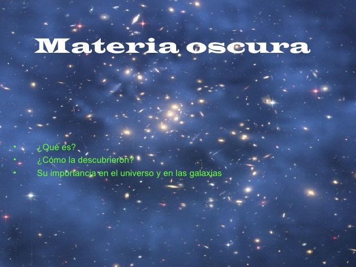 Materia.Oscura
