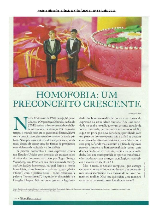 Revista Filosofia - Ciência & Vida / ANO VII Nº 83 junho 2013