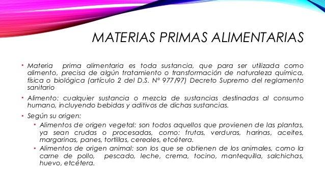 Materias primas vegetales y animales - Aprovisionamiento de materias primas en cocina ...