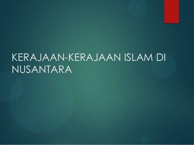Materi awal masuknya islam di indonesia