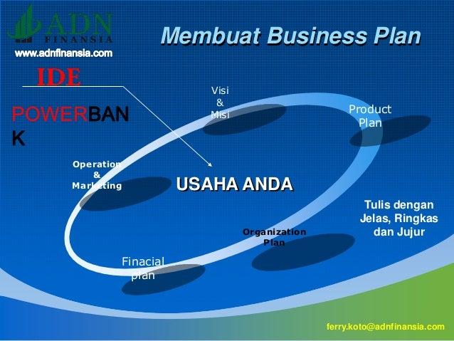 Cara Membuat Presentasi Business Plan Profesional Dengan Powerpoint