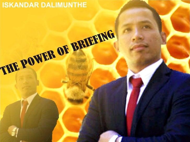 Materi briefing