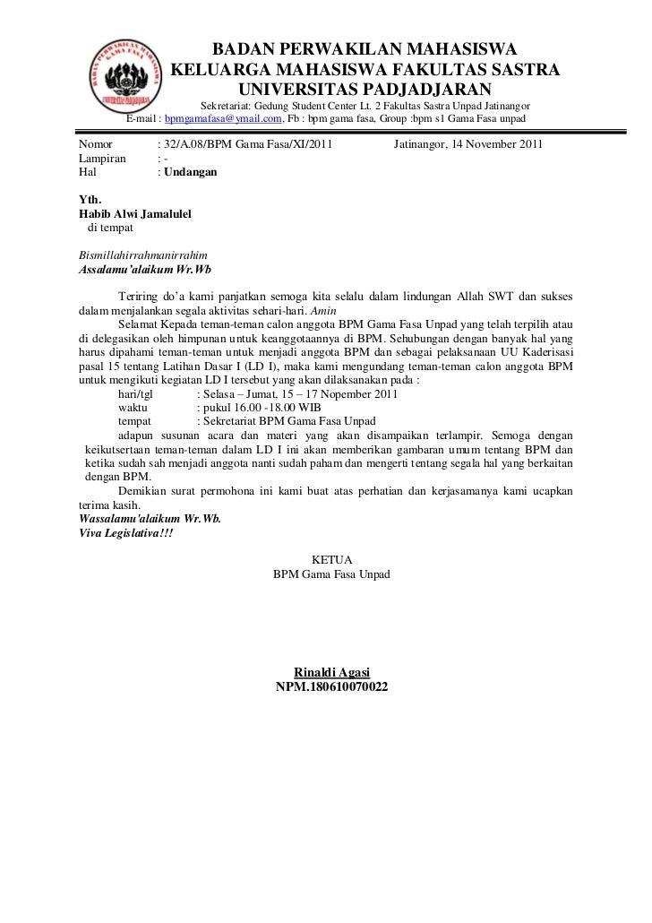 Contoh Surat Audiensi Lsm Surat 0