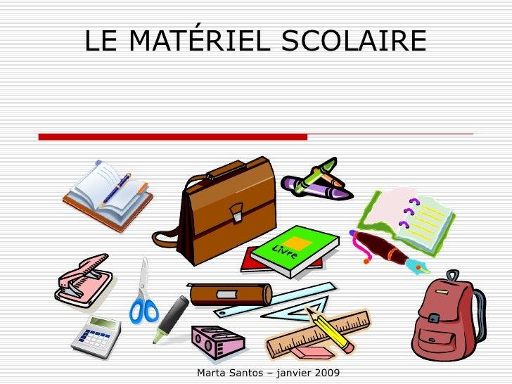 Materiel scolaire for Les materiels de restaurant