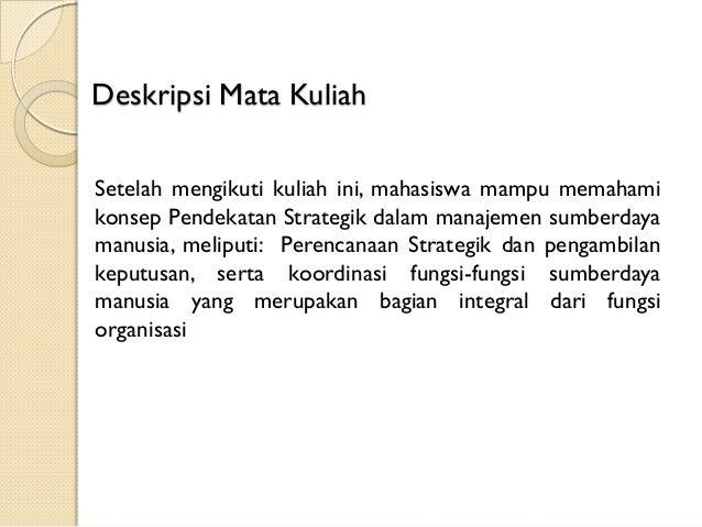 Materi kuliah manajemen strategik pdf