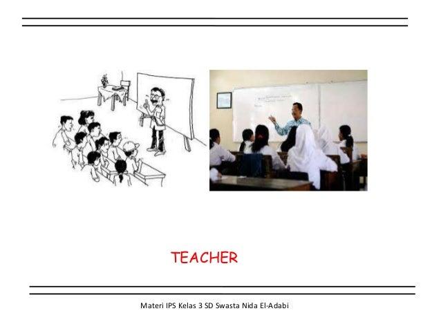 Jenis Jenis Pekerjaan Materi Ips Kelas 3 Sd Topik 1