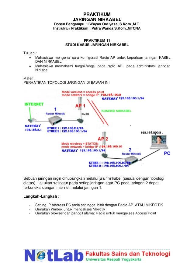 Materi jaringan nirkabel 57 praktikum jaringan nirkabel ccuart Choice Image
