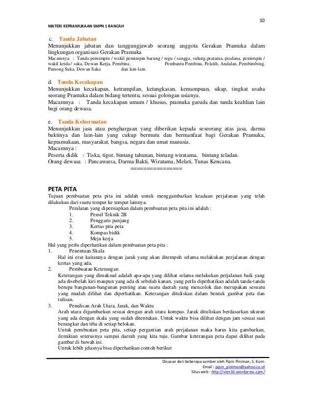 Gerakan Pramuka ( Kumpulan Materi Pramuka Lengkap ...