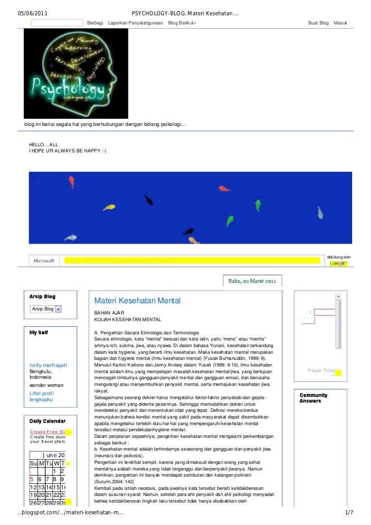 05/06/2011                                             PSYCHOLOGY-BLOG: Materi Kesehatan …                                ...