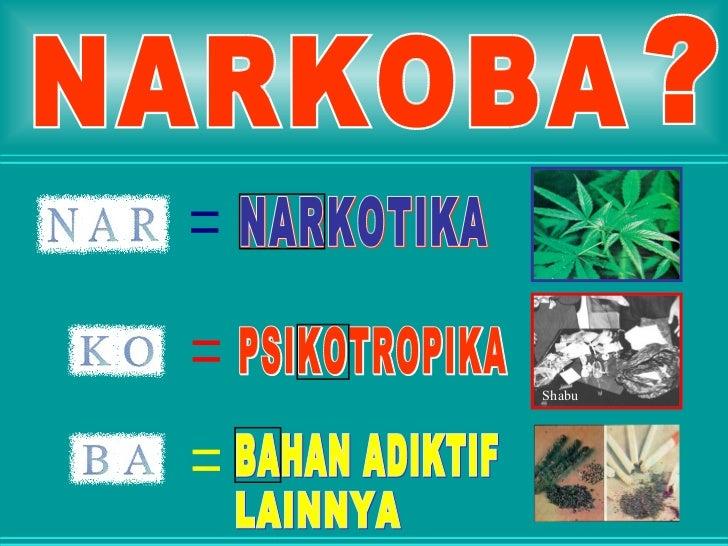 Materi NARKOBA dari BNK Kota Semarang Slide 2