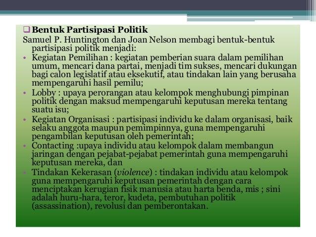BENTUK PARTISIPASI POLITIK EPUB