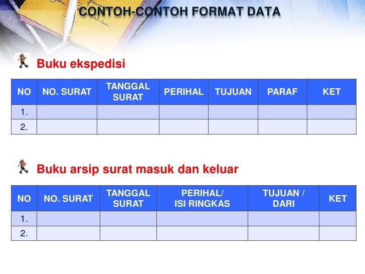 Contoh Format Buku Ekspedisi Intern Alat Peraga Administrasi Perkantoran Mei 2013 Contoh
