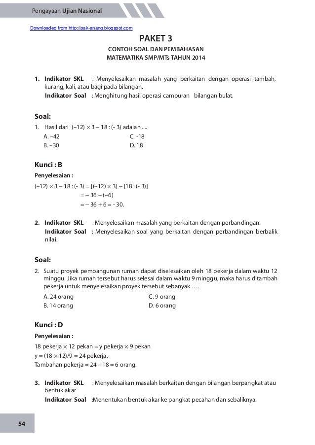 Contoh Himpunan Matematika Smp Contoh Z
