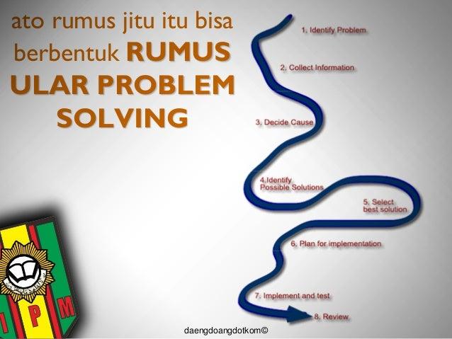 materi problem solving untuk ldks